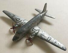 Vintage Dinky Toys Viking airliner, metal toy aeroplane