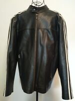 Vintage 60's-70's Style Leather Jacket. Size 42 Chest. Smart, Retro, Cafe Racer