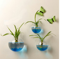 Home Wall Decoration Glass Ball Hanging Flower Pots Garden Supplies Free Ship