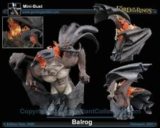 Gentle Giant Lord Of The Rings Balrog Bust Rare Sold Out