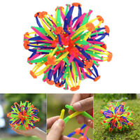Kids Retractable Changeable Magic Ball Hand Catch Ball Flower Balls Toys Gifts