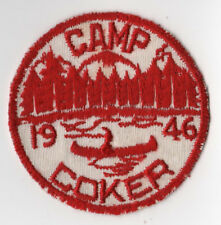 1946 Dated Camp Coker Pee Dee Area Council Linen Variety