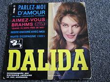 Dalida-Parlez Moi D´Amour 7 PS-1961 France-45 U/min-Barclay