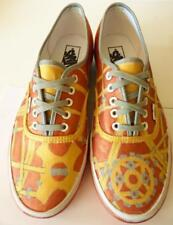 VANS Off The Wall Copper Silver Sneakers Athletic Shoes Women's 10.5 Men's 9 M