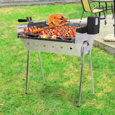 Unbranded Charcoal Spit Roaster BBQs