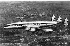 Postcard 926 - Aircraft/Aviation Real Photo KLM Lockheed L1049EG Flying Dutchman