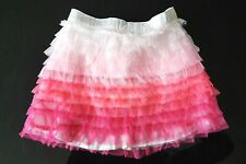 Baby Gap Girl NEON PINK Ombre Tulle Ruffle Mini Skirt Knickers Set 18-24m £14.95