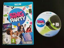 Sing Party - Nintendo Wii U - Free, Fast P&P! - Singing, Music, Songs