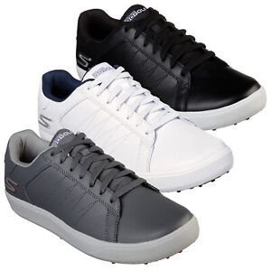 Skechers Mens Go Golf Drive 4 Spikeless Shoe Leather Water Resistant Lightweight