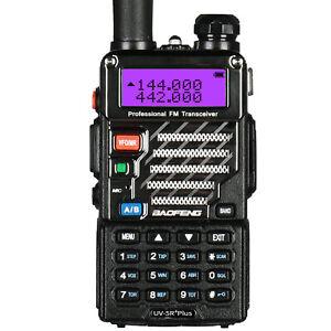 Baofeng UV-5R Plus Dual-Band VHF UHF FM Ham Twi-way Radio Talkie Walkie