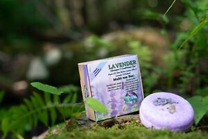 Lavender Shampoo & Conditioner Bar - Nourishes Broken, Dried, & Dying hair.