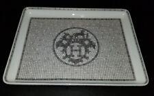 Hermes Mosaique Au 24 Platinum Sushi Dish #035089P