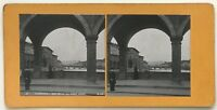Florence Pont Vecchio Italia Foto P39L9n12 Stereo Stereoview Vintage Analogica