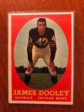 1958 Topps # 8 Jim Dooley EX