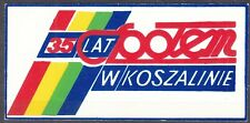 "POLAND 1982 Matchbox Label - Cat.A#218 35 years old, the ""Społem"" Food Cooperat."
