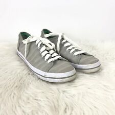 Keds Ortholite 7 Womens Grey Textured Lace-up Sneakers