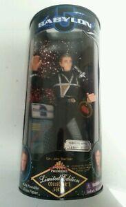 BABYLON 5 - John Sheridan Exclusive Premiere Ltd Ed MIB Collectors Toy Figure