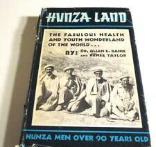 HUNZA LAND THE FABULOUS HEALTH & YOUTH Wonderland of the World-1960 1st-BANK