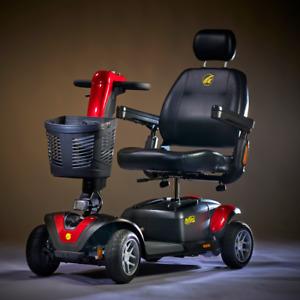 New Golden Technologies Buzzaround Extreme Luxury LX 4 Wheel Scooter GB149A
