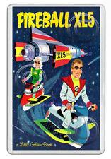 FIREBALL XL5 (STEVE ZODIAC) 1964 BOOK COVER ART NEW JUMBO FRIDGE LOCKER MAGNET