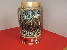 "Budweiser Stein / Mug 1987 ""C"" Series Clydesdales Advertising Bar Decor"
