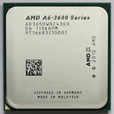 AMD A6-3650 APU with Radeon HD Graphics 2.60 GHz