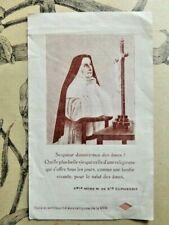 Ancienne images pieuse / Relique Sainte Euphrasie