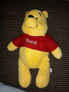 "Disney Store 14"" Winnie the Pooh Plush"