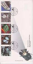 Risolte GB Royal mail FDC 1996 FOTO CINEMA Stamp Set London PMK