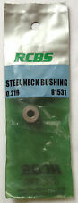 RCBS .216 Steel Neck Bushing 81531 sizing sizer die Gold Medal