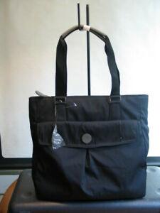 BNWT Radley Elliot black nylon A4 Zip Top Tote Bag
