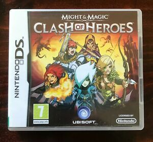 Nintendo MIGHT AND MAGIC CLASH OF HEROES DS game  (FREE POST OPTION)