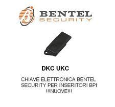 CHIAVE ALLARME ANTIFURTO ELETTRONICA DKC BENTEL OBSOLETO LED SMALL X INSERITORE
