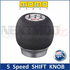 MOMO Shift Knob For Subaru STI 5MT 5AT WRX Impreza Liberty Forester GT GC8 Gear