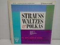 VINTAGE VINYL RECORD BOYS CHOIR OF VIENNA STRAUSS WALTZES AND POLKAS SSU 221
