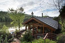log cabin  hottubs  logs kayaks luxury cottage  fishing weekend  short break
