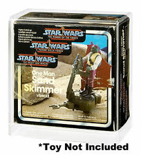 Star Wars Tri-Logo Sand Skimmer/Security Scout Acrylic Display Case
