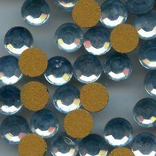 2000/SS31/LSA**20 STRASS ANCIENS SWAROVSKI FOND PLAT LIGHT SAPPHIRE (6,6mm)**x20