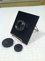 VINTAGE Schneider-Kreuznach Componon EnlargingLens 1:4/50 lens caps and plate