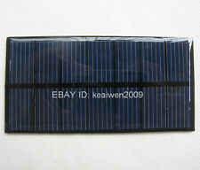 New mini solar panel 3.5V 210mA 0.735W small solar panels power 2.4v battery led