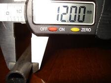 STEEL PRECISION TUBE  12mm OD x 300mm LONG  2mm WALL Mild Steel AISI 1010