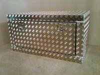 Aluminium alloy storage box campervan motorhome caravan