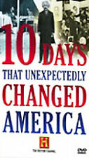10 Days That Unexpectedly Changed America [History Channel] - DVD