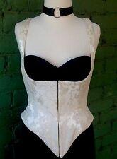VINTAGE MARIANA HARDWICK BRIDAL UNDERBUST CORSET TOP BUSTIER FETISH SEXY Size 14