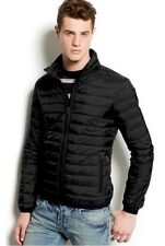 Armani Jeans Puffer Packable Jacket Black Size Small MSRP $349.00