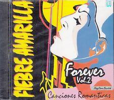 Fiebre Amarilla Forevre Vol 2 Canciones Romanticas CD New Nuevo Sealed