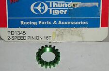 THUNDER Tiger modello R / C Auto Parti PD1345 2-Speed Pinion Gear 16T EB4 S2 Touring