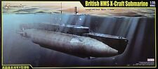 MERIT 63504 British HMS X-Craft Submarine in 1:35