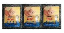 3 packs x Purina Go Cat ADULT Cat with Herring, with Tuna and with Vegetables