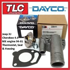 Jeep XJ Cherokee Thermostat, Housing and Gasket 94-01 4.0 MX Engine